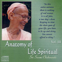 ZDC003 Anatomy of Life Spiritual - III (Video DVD)