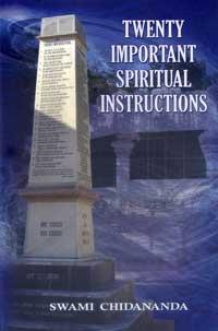 EC40 Twenty Important Spiritual Instructions